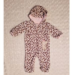 Carter's Spotted Cat One Piece, 6 months, Girl